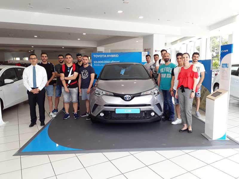 Μηχανικός-Αυτοκινήτων-Toyota