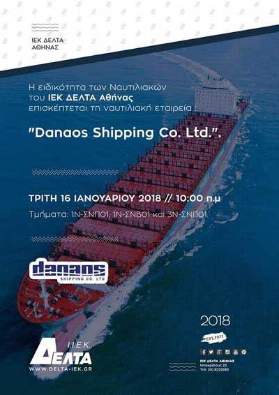 Danaos Shipping-Iek Delta