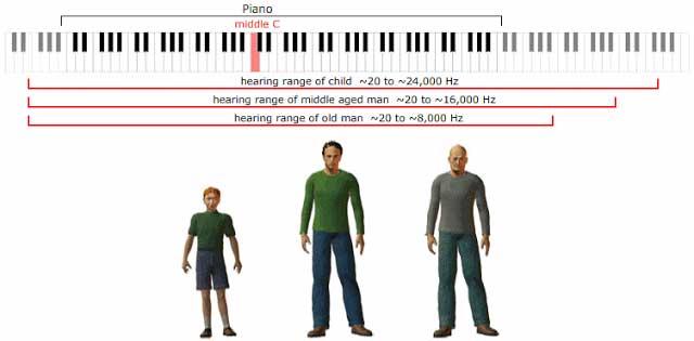 Συχνοτικό εύρος ακοής