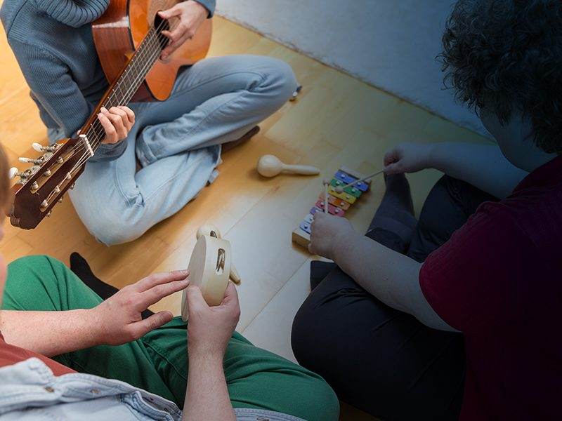 SCHOOL OF BEAUTY & HEALTH MUSIC THERAPY